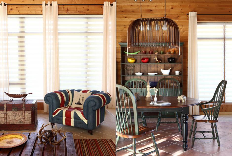 复古原木风潮来袭 阐释新中式居室风格-别墅装修-成都图片