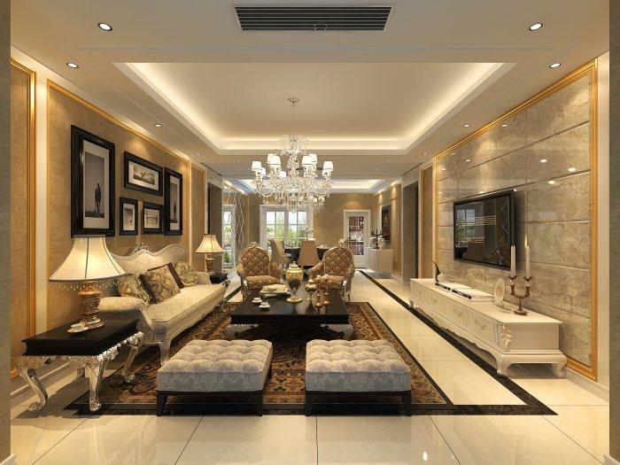 12平方米现代欧式风格设计-楼盘案例-前