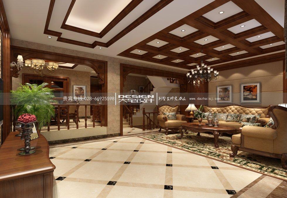 设计甲级,施工一级资质企业,在别墅装修公司以及别墅设计公司里面龙发